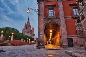 The Streets of San Miguel de Allende, Mexico