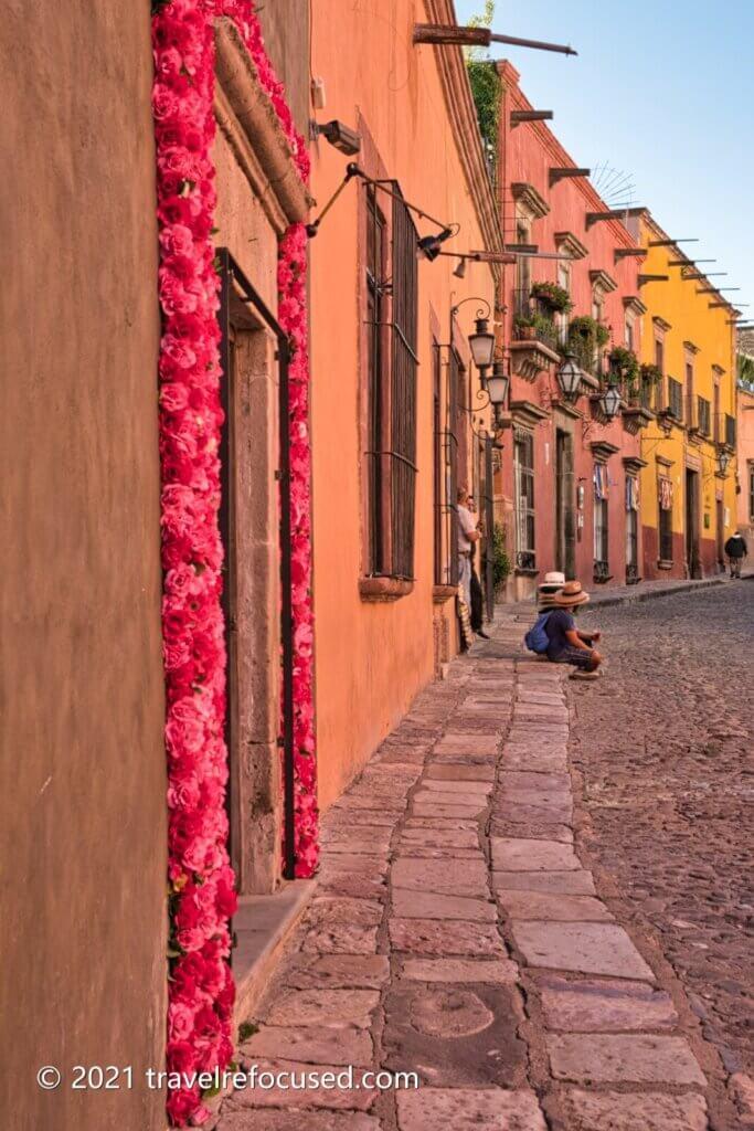 San-Miguel-Street-pink-flowers
