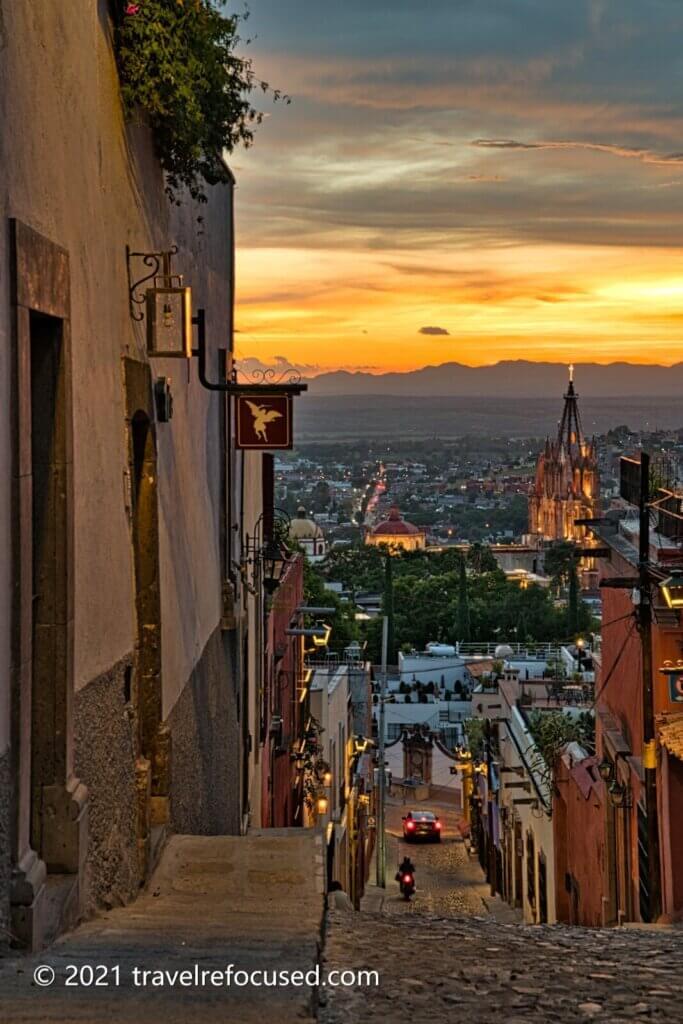 san-miguel-street-at-sunset-